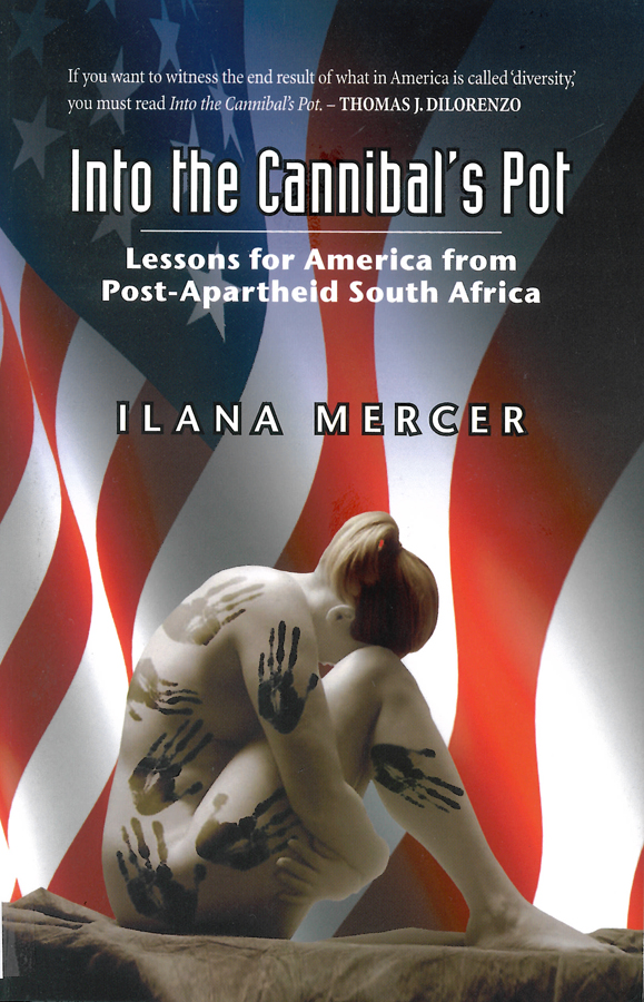 Picture of the front cover of the book entitled Into the Cannibal's Pot