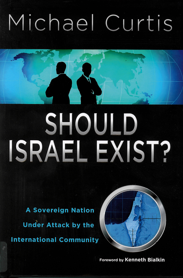 Picture of the front cover of the book entitled Should Israel Exist?.