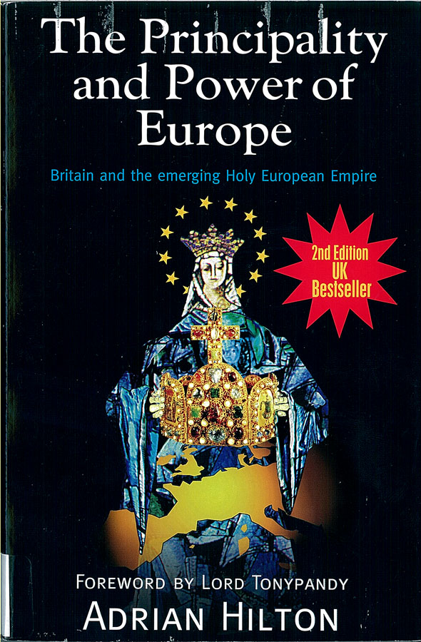 Picture of the front cover of the book entitled The Principality and Power of Europe.