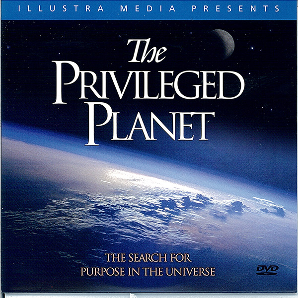 Picture of the front cover of the DVD entitled The Privileged Planet.