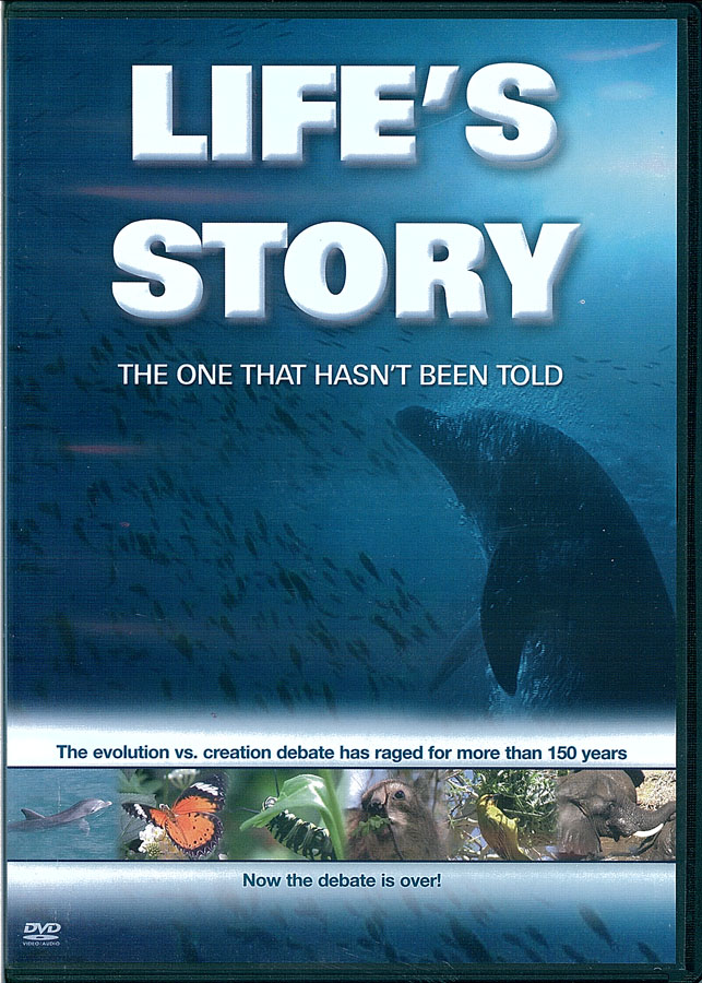 Picture of the front cover of the DVD entitled Life's Story: The One that Hasn't Been Told.